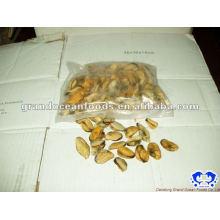 Meeresfrüchte gefrorene gekochte Vakuumverpackung Miesmuschelfleisch