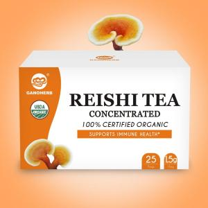 Organic Reishi Mushroom Ganoderma Lucidum Lingzhi Concentrated Tea