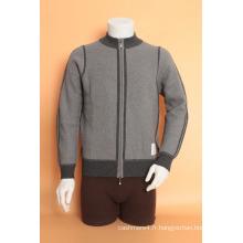Yak Laine / Cachemire Cardigan Col Rond Manches Longues Pull / Vêtements / Vêtement / Tricots