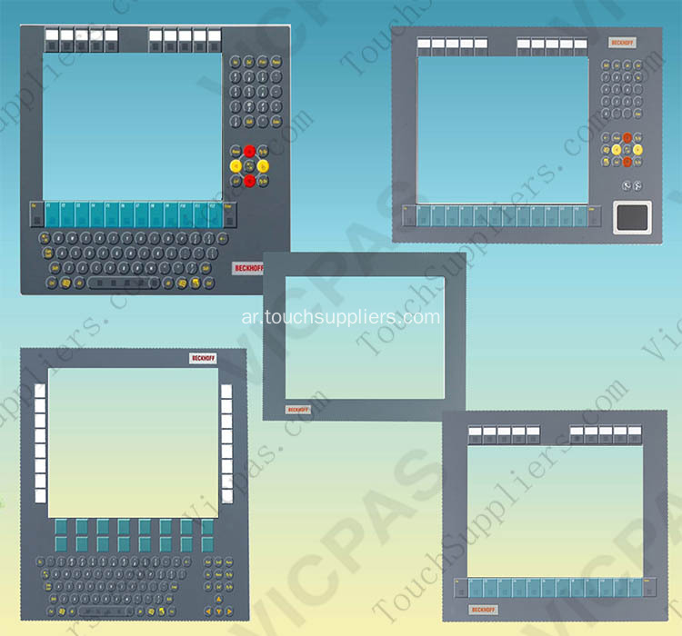 CP2219-0000 Membrane switch for Beckhoff Panel PC