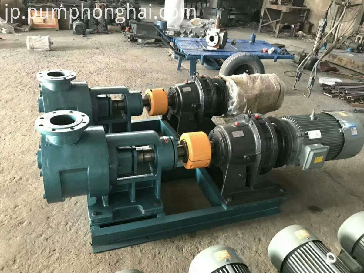 high viscous fluid pump