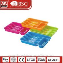 Buena calidad y venta de cubiertos de plástico conjunto titular