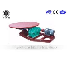 Дисковый питатель для равномерной подачи минеральной руды с шаровой мельницей