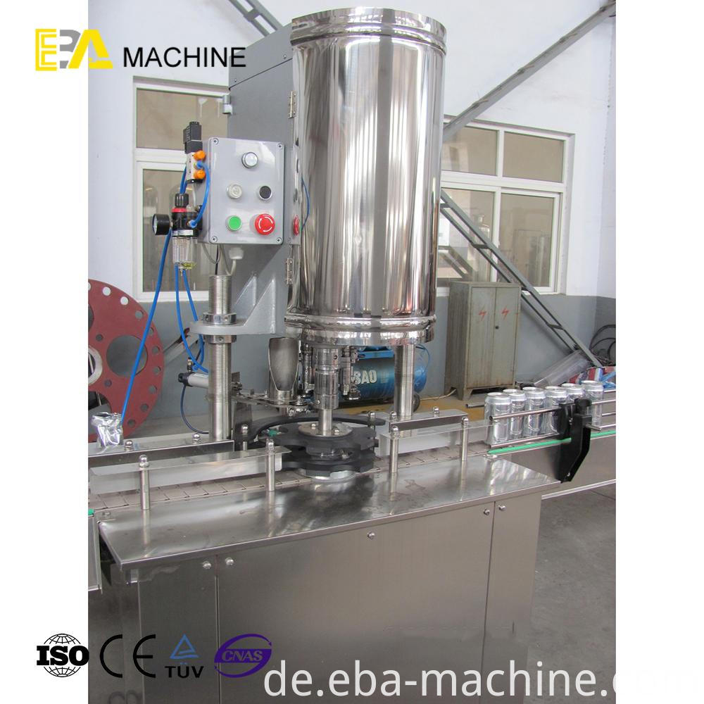 Single Head Can Sealing Machine
