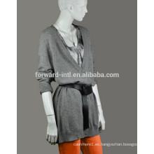 Suéter con cuello en v mujeres, nuevo suéter de las mujeres del estilo
