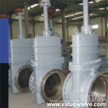 API 6D Full Opening Bolted Bonnet OS&Y Cast Steel Slab Gate Valve