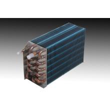 Condensador comercial de aleta de aluminio de cobre refrigeraion