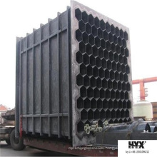 Hexagonal Shaped Fiberglass Pipe for Wesp System