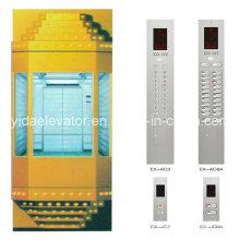 CE aprobó el ascensor de la observación del fabricante profesional del elevador