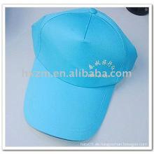 Fünf Paneele blaue Baseballmütze / Trucker Cap mit gedruckt