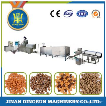 línea de producción completa de gran capacidad para la fabricación de alimentos para perros