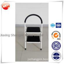 Lightweight folding step ladder 2 step ladder with handrail