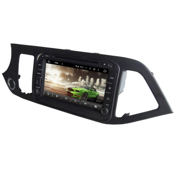 8 inch android car dvd player for KIA Morning
