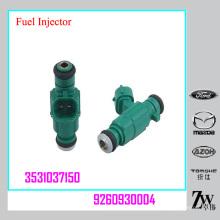 OEM # 3531037150, 9260930004 Taiwán Inyector de Gasolina para Misubishi Hyundai