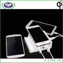 Multi USB зарядное устройство Портативный Qi беспроводной зарядное устройство для Samsung S7 и для iPhone