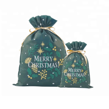 Bolso jumbo de regalo de Navidad no tejido de 400x560 mm