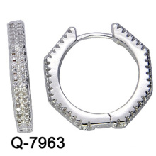 Nouvelles boucles d'oreilles de bijoux de mode de conception Huggies avec le prix concurrentiel d'usine