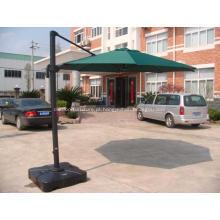 Jardim do sol alumínio guarda-sol Sunbrella proteção solar