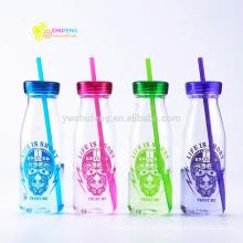 350ML Plastic BPA Free Water Bottle Portable Soda Bottle Colorful Bottle
