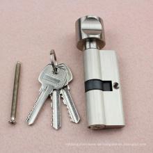 High Quality Hardware Zubehör Oven Knopf Lock Body Zylinder Satin Nickel Finish
