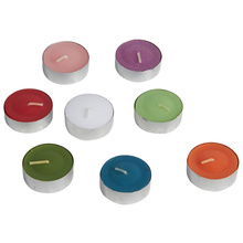 Lilin Tealight Putih, jam 4 sore