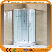 Bathroom Tempered Glass Shower Cabin (ADL-8605)