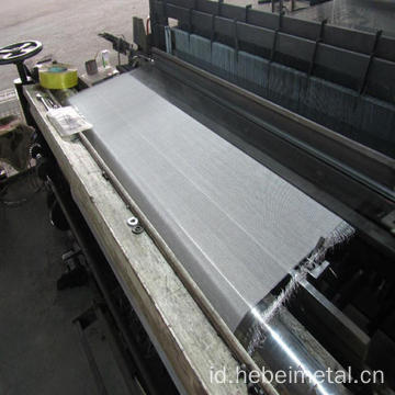 Kain anyaman stainless steel mesh filter