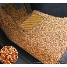 Estera de alta calidad del piso del coche de la bobina del forro del clavo