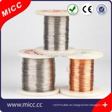Cable de resistencia de calentamiento MICC Ni70Cr30