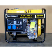 3kVA Diesel Genset KAIAO Pequeno Casa e Uso de Escritório Genset 3500E