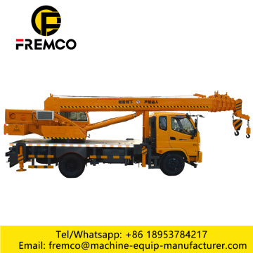 Cheap Truck Crane with T-King Chassis