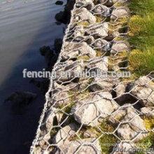 décoration de mur de gabion soudé galvanisé de haute qualité