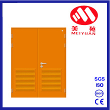 Steel Fire Door with Double Door, Colorful