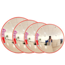 45cm 130 degree Round Plastic PC Lens traffic mirror, Factory Directly Selling City Traffic Safety Miroir Convex