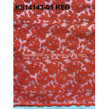 High Quality African Cord Lace/French Cord Lace Fabric