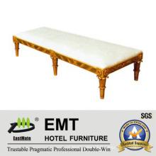 Tabouret d'extrémité de lit en bois en bois de haute qualité (EMT-BS03)