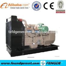 Meilleur prix ! Haute qualité! Générateur électrique à gaz naturel 6 cylindres 400KW