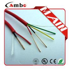 Shenzhen fábrica 1000 pies Rojo sólido de cobre FPL FPLR aluminio hoja de fuego de alarma de incendio de cable