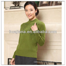 Stoll machine knitting women's cashmere sweater
