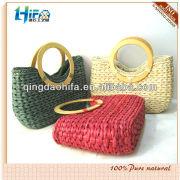 HIFA Cornhusk Straw Fashion Handbag