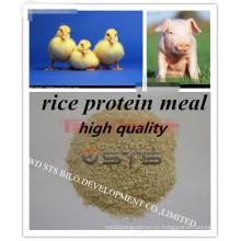 Рис белка для кормления животных с низким