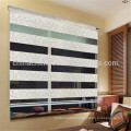 Modern jacquard design zebra blind curtain rainbow blind