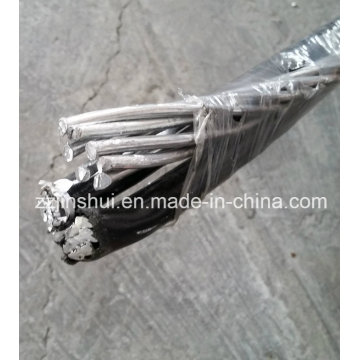 Сервисный кабель Drop Алюминиевый триплекс 4AWG Барвинк