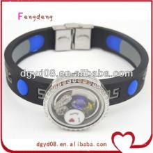 2014 fournisseur de bracelet de silicium personnalisé pas cher