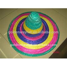 Дешевые шляпы для продажи солома sombrero hat