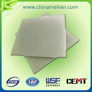 Hoja de resina epoxi de fibra de vidrio aislante