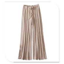 Jambières de femmes à tricoter 100% cachemire avec ceinture