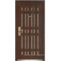 Porta blindada de madeira de aço (YF-G9003)