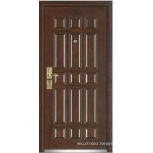 Steel Wooden Armored Door (YF-G9003)