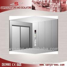 5000kg Four Panels Cargo Elevator